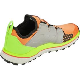 adidas TERREX Agravic Boa Trail Running Shoes Women, naranja/gris